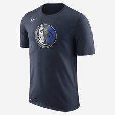 Nike DRY LOGO DALLAS MAVERICKS MEN'S NBA T-SHIRT College Navy-Size S, M, L Or XL