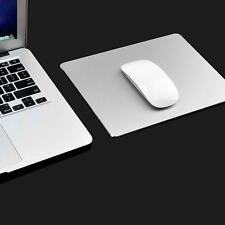Aluminum Alloy Mouse Pad Gaming Mat Mouse For Macbook Apple HP Dell Computer New