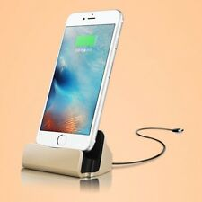 Dock Charger Stand Charging Station Cradle for iPhone 5 5S 6 6S 7 8 Plus X iPod