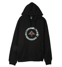 Brand New Mens LRG Lifted Research Group Woodlands Skateboard Hoodie Black