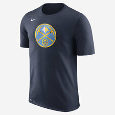 Nike DRY LOGO DENVER NUGGETS MEN'S NBA T-SHIRT College Navy- Size S, M, L Or XL