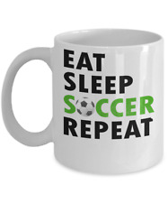 Soccer Fan Ceramic Coffee Mug Best Tea Cup Gift For Futbol Fans