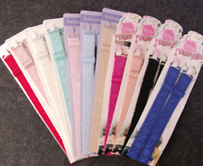 1 Pairs Cotton Bra Strap Women's Underwear Shoulder Belt Adjustable 12 Colors