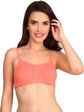 NEW BRANDED JOCKEY PEACH BLOSSOM COLOR COTTON SOFT CUPS BRA GIVE NICE LOOK