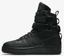 Nike SF AIR FORCE-1 WOMEN'S BOOT Full-Grain Leather BLACK-Size US 7,7.5,8 Or 8.5
