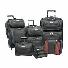Travelers Choice Travel Select Amsterdam 8-Piece Softshell Deluxe Expandable