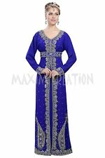 ORIGINAL MODERN ABAYA FANCY JILBAB ARABIAN KAFTAN WEDDING GOWN DRESS 6094