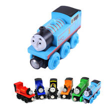 Wooden toys thomas train Magnetic thomas and friends Model Train for baby  Kids