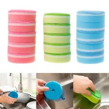 5 Pcs Strong Decontamination Sponge Cleaner Dishcloth Wiping Rags Washing Tool