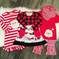 NEW CHRISTMAS BOUTIQUE HOLIDAY OUTFITS GIRLS CHRISTMAS OUTFITS FREE FAST SHIP