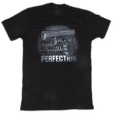 Glock AP9511 Series Men's Tee Black Perfection Logo Short Sleeve T-Shirt S-3X