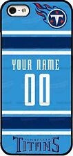 TENNESSEE TITANS JERSEY PHONE CASE COVER WITH YOUR NAME & # Fits iPHONE SAMSUNG