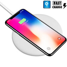 Qi Wireless Fast Charger Charging Pad for Samsung Galaxy Note 8 S8+ iPhone X 8+