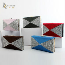 Luxury Women Handbag Shoulder Evening Clutch Bag Party Purse Velvet Chain Wallet