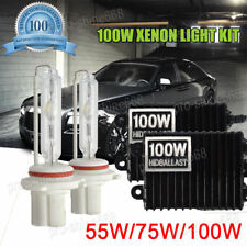 Xenon Headlight HID Conversion KIT 55W 75W 100W H4 HB3 HB4 H11 8000K Ice Blue W1