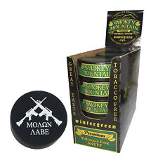 Smokey Mountain Herbal Snuff/Chew - Wintergreen 10ct - with DC Skin Can Cover