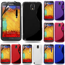 Protective Cover for Samsung Galaxy Note 3 N9000/N9002 TPU Silicone Flip Case