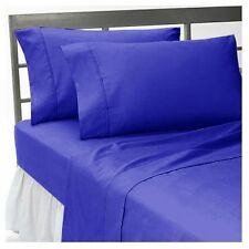 Bedding Duvet/Fitted/Flat 1000 TC Egyptian Cotton Egyptian Blue Solid US-Sizes