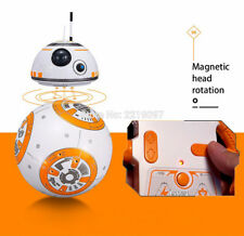 😍😍 Star Wars The Last Judi BB-8 Ball Robot Remote Control With Sound Light Toy