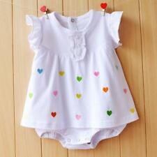 Baby Girl Rompers Summer Girls Clothing Sets Roupas Bebes Flower Newborn Baby Cl