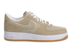 NEW MENS NIKE AIR FORCE 1 LOW BASKETBALL SHOES TRAINERS KHAKI / KHAKI / WHITE