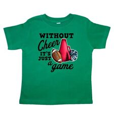Inktastic Cheerleading Without Cheer Its Just A Game Toddler T-Shirt Sports I