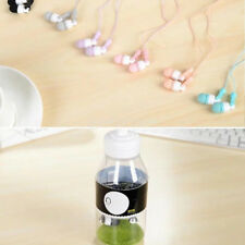3.5mm In ear Earphone Headphones with Creative Bottle For Mobile PC MP3 iPod