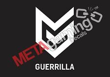 Guerrilla game company logo for PC PS Xbox or Car Decal Sticker