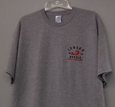 Jersey Devils Eastern Hockey League 1973 Embroidered T-Shirt S-6X, LT-4XLT New