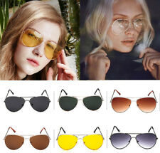 Unisex Retro Fashion Aviator Sunglasses Eyewear Shades Party Eye Glasses Holiday