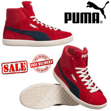 PUMA Archive Lite Basketball Shoes Leather Hi-Top Boots Retro Trainers Unisex UK