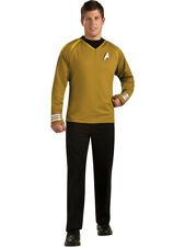 Star Trek Into Darkness Gold Captain Kirk Adult Grand Heritage Costume Shirt