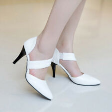 Women SexyThin High Heels Pointed Toe Pumps Wedding Bridal Shoes Spring