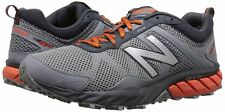 New! Mens New Balance 610 v5 Trail Running Shoes Sneakers Grey with Red