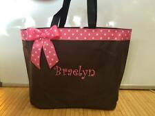 Personalized Diaper Bag Tote Monogrammed Baby  Girl