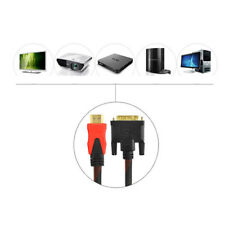 1.5-10m HDMI Male to DVI-D 24+1 Male Cable Adapter HDTV Laptop PC TV Video Link