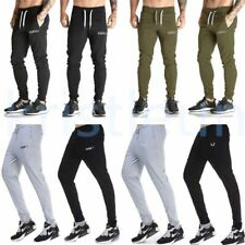 Outdoor Men's Athletic Sweatpants Gym Jogging Running Sports Solid Long Trousers