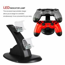 For PlayStation PS4 Dual Controller Charger Dock Station USB Charging Stand BU