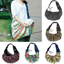 Pet Dog Cat Carrier Bag Travel Double-sided Pouch Shoulder Carry Tote