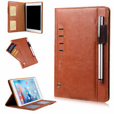 """Smart Leather Case Wallet Card Stand Folio Cover For Apple New iPad 9.7"""" 2017 US"""