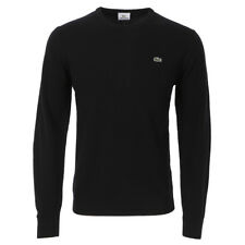 Lacoste New Wool AH2995 Crew Neck Jumper Noir