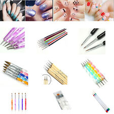 Multi-Color Nail Art Design Set Dotting Painting Drawing Polish Brush Pen Tools