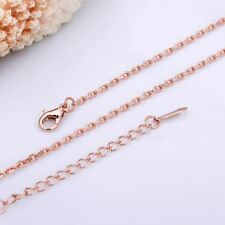 Rose Gold Chain Necklace 18 inch FREE Shipping