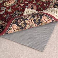 Non Skid Area Rug Pad Hard Floor or Carpet Reversible Non Slip Rug Pad 7 Sizes