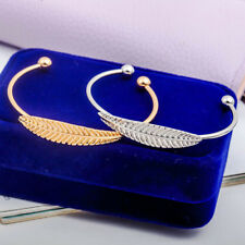 Gold Silver Plated Alloy Slim Charms Cuff Bracelet Bangle Retro Jewelry 1 PCS