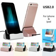 USB2.0 Fast Charger Dock Station Desktop Charger Stand for iPhone for iPad IB
