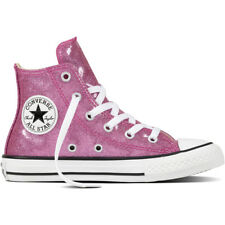 Converse Chuck Taylor All Star Glitter Hi Bright Violet Synthetic Youth