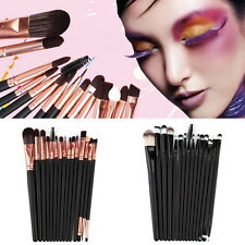 15Pcs/Set Make Up Brushes Kit Eyeshadow Eyeliner Mascara Eye Brush Tools B9