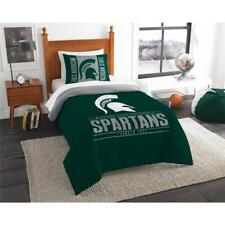 NCAA Michigan State Spartans Comforter Set Bedding Officially Licensed
