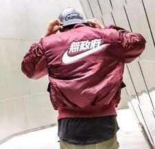 Air Tokyo Bomber Jacket - Wine Red
